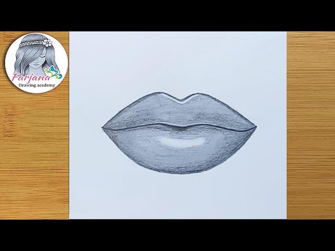 How To Draw Lips For Beginners Easy Way