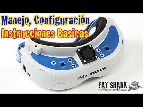 gafas-fatshark-dominator-v3-instrucciones-manejo-configuracio´n