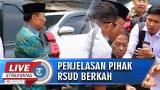 Wawancara EKSKLUSIF Penjelasan Direktur RSUD Berkah Pandeglang terkait Penanganan Wiranto