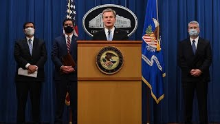FBI Director Wray and AG for National Security Demers speak on China-related national security