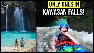 FinnSnow – ALONE IN KAWASAN FALLS, CANYONEERING & Bluest water in the World – Cebu Philippines