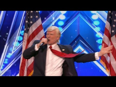 Donald Trump v Amerika má talent