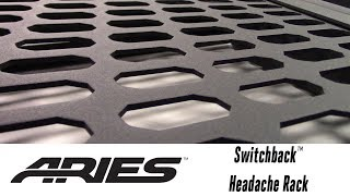 In the Garage™ with Total Truck Centers™: ARIES Switchback™ Headache Rack