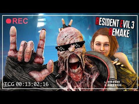 ФИНАЛ ЭПИЧНОЙ ИГРЫ! - САМЫЙ ЖЕСТОКИЙ НАГИБ! - Resident Evil 3 Remake