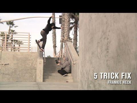 preview image for 5 Trick Fix: Frankie Heck - TransWorld SKATEboarding