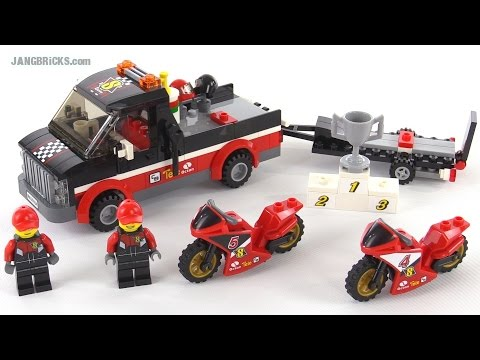 LEGO City Racing Bike Transporter review! set 60084