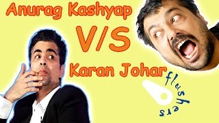 <b>Anurag Kashyap Fans Vs Karan Johar Fans</b>