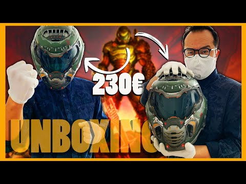 DOOM ETERNAL : notre UNBOXING du Collector avec le casque du Doom Slayer !