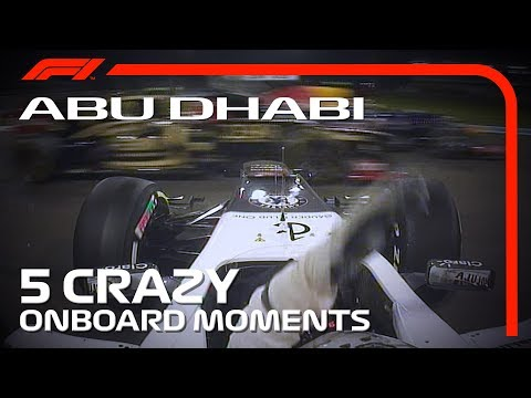 5 Crazy Onboards | Abu Dhabi Grand Prix