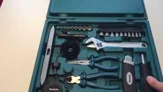 Набор ручного инструмента 200 предметов Makita D 37194