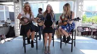 Country music trio Lucy Angel performs 'Crazy Too' at the Hard Rock Cafe in Baltimore