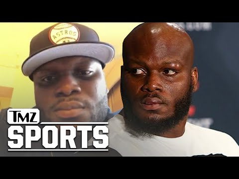 UFC's Derrick Lewis Talks Returning To The Octagon, Wanting To Fight Stipe Miocic | TMZ Sports