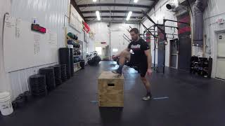 The Swivel Style | Box Jump Overs | Variation 4 of 5