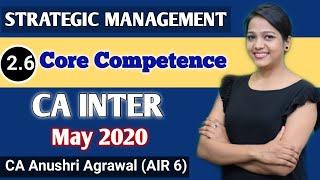 Core Competence Ll Strategic Management Ll CA-IPCC
