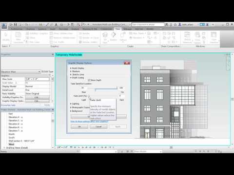 Revit 2017 – Depth Cueing