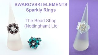 Swarovski Sparkly Rings