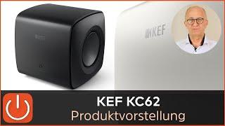 PRODUKTVORSTELLUNG KEF UniCore Subwoofer KC62 Neuheit 2021 - THOMAS ELECTRONIC ONLINE SHOP -