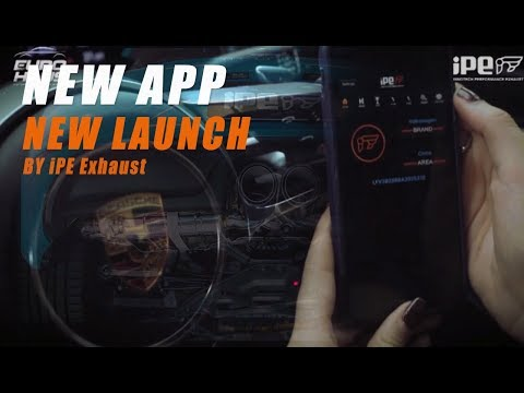 iPE Exhaust System - New Remote Controller & APP Controller , IOS & Android Available !