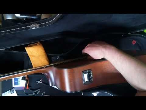 How to change strings on an Acoustic guitar