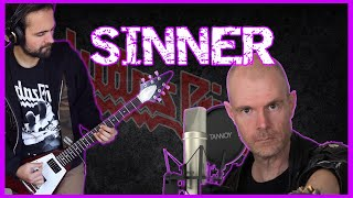 JUDAS PRIEST - Sinner (Sin After Sin, 1977) GUITAR & VOCAL cover by Jose M. Nistal!!! HD sound.