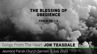 Psalm 119: 1-8 - The Blessing of Obedience - Jesmond Parish Church, Newcastle Sermon