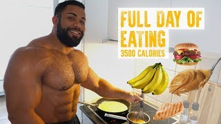 Bodybuilder Full Day of Eating | 3500 Calories