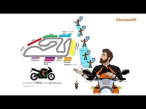 Vídeos de 'Cómo llegar al circuito de Cheste para el GP de Valencia'