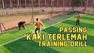 Tips Melatih Passing Kaki TERLEMAH & TERKUAT di SEPAKBOLA/FUTSAL Video thumbnail