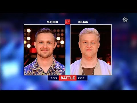 Maciek vs Julian || Ed Sheeran & Justin Bieber - I Don't Care || The Voice 2019 - Battle (Germany)