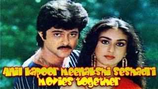 Anil Kapoor Meenakshi Seshadri Movies Together  Bollywood Films List 🎥 🎬