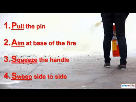 Online fire extinguisher training courses - YouTube