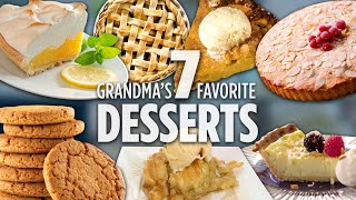 How to Make Grandma's 7 Favorite Desserts | Dessert Recipes | Allrecipes.com
