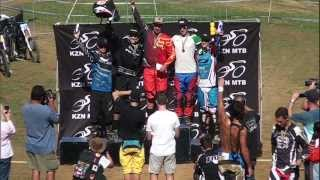 preview picture of video 'SA Nationals Cup Race #2 - Cascades MTB Park, PMB : 14th April'