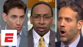 Every 2018 Warriors vs. Rockets prediction from First Take, Get Up!, The Jump & more   ESPN Voices
