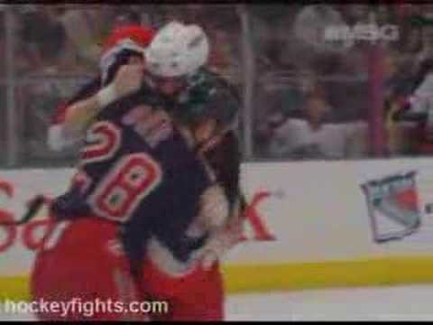 Jody Shelley vs Colton Orr