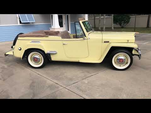 1950 Willys Jeepster (CC-1180748) for sale in Vero Beach, Florida