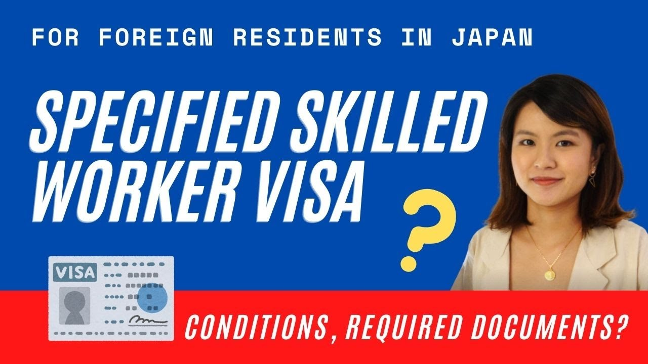 Specified Skilled Visa (Tokutei Ginou Visa) in JAPAN | How to Apply | Application Flow | Test Venues