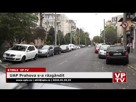 UAP Prahova s-a răzgândit