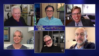 The Most Epic Drama To Ever Occupy The White House - The West Wing Cast Takes Over A Late Show thumbnail