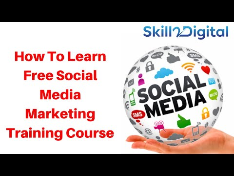How To Learn Free Social Media Marketing Training Course online ...