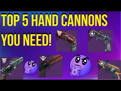 Top 5 Hand Cannons You NEED Before Season Of Opulence - Destiny 2