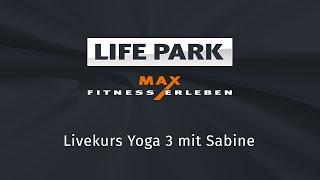 Yoga mit Sabine (Livemitschnitt vom 12. April 2020)