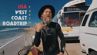Жизнь в автобусе на берегу океана & серфинг в 53 года. Джефф Каспер. Pacific 420.   Kholo.pk