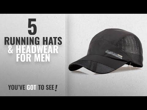 Top 10 Running Hats & Headwear For Men [2018]: TOOGOO(R) Fashion Mens Summer Outdoor Sport Baseball