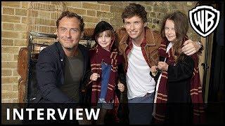 Fantastic Beasts: The Crimes of Grindelwald – Back To Hogwarts Interview – Warner Bros. UK