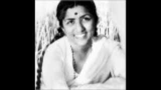 Naina 1953 - Main Dekhoon Tohe Din Raati - Lata - Manna