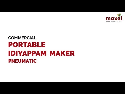 LEP1029	Commercial Pneumatic Portable Idiyappam Maker