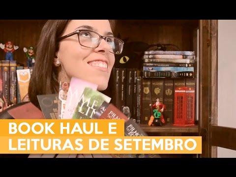 BOOK HAUL E LEITURAS DE SETEMBRO | Admirável Leitor