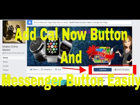 "How to add both "" Message now"" &  ""Call"" to action Button on FB Page"