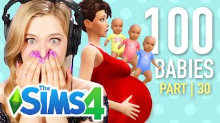 Single Girl Has Triplets In The Sims 4 | Part 30